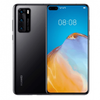 "Mobilais telefons Huawei P40 melns, 6.1 "", OLED LCD, 1080 x 2340 pixels, Octa-core, Internal RAM 8 GB, 128 GB, NM SD, Dual SIM, Nano-SIM, 3G, 4G, Main camera Tiple 50 + 16 + 8 MP, Secondary camera 32 MP, Android, 10.0, 3800 mAh Mobilie tālruņi"