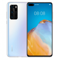 "Mobilais telefons Huawei P40 Ice White, 6.1 "", OLED LCD, 1080 x 2340 pixels, Octa-core, Internal RAM 8 GB, 128 GB, NM SD, Dual SIM, Nano-SIM, 3G, 4G, Main camera Tiple 50 + 16 + 8 MP, Secondary camera 32 MP, Android, 10.0, 3800 mAh Mobilie tālruņi"