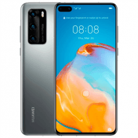 "Mobilais telefons Huawei P40 Silver Frost, 6.1 "", OLED LCD, 1080 x 2340 pixels, Octa-core, Internal RAM 8 GB, 128 GB, NM SD, Dual SIM, Nano-SIM, 3G, 4G, Main camera Tiple 50 + 16 + 8 MP, Secondary camera 32 MP, Android, 10.0, 3800 mAh Mobilie tālruņi"