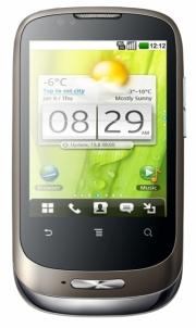 Išmanusis telefonas Huawei U8180 (Black)