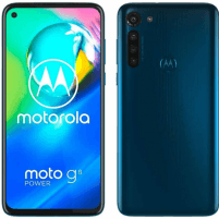 "Mobilais telefons Motorola Moto G8 Power Blue, 6.4 "", IPS LCD, 1080 x 2300 pixels, Qualcomm SDM665 Snapdragon 665, Internal RAM 4 GB, 64 GB, microSD, Dual SIM, Nano-SIM, 3G, 4G, Main camera 16+8+8+2 MP, Secondary camera 16 MP, Android, 10.0, 5000  Mobilie tālruņi"
