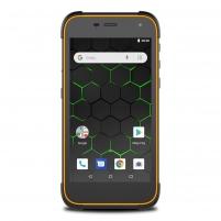 Smart phone MyPhone HAMMER Active2 LTE Dual black + orange Mobile phones