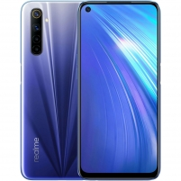 Išmanusis telefonas Realme 6 Dual 4+64GB comet blue (RMX2001) Mobilūs telefonai