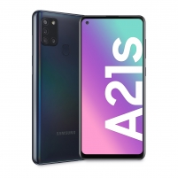 Smart phone Samsung A217F/DS Galaxy A21s 32GB black Mobile phones