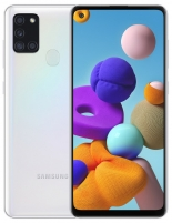 Smart phone Samsung A217F/DS Galaxy A21s 32GB white Mobile phones