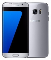 Mobilais telefons Samsung G935F Galaxy S7 EDGE 32GB silver titanium Mobilie tālruņi