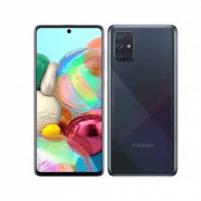 "Išmanusis telefonas Samsung Galaxy A71 A715 Prism Crush Black, 6.7 "", Super AMOLED, 1080 x 2400, Qualcomm, Snapdragon 730, Internal RAM 8 GB, 128 GB, microSD, Dual SIM, Nano-SIM, 3G, 4G, Main camera 64+12+5+5 MP, Secondary camera 32 MP, Android, 10."