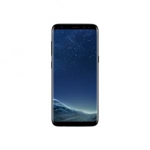 "Išmanusis telefonas Samsung Galaxy S8 G950F Midnight Black, 5.8 "", Super AMOLED, 1440 x 2960 pixels, Exynos 8895 Octa, Internal RAM 4 GB, 64 GB, microSD, Single SIM, Nano-SIM, 3G, 4G, Main camera 12 MP, Second camera 8 MP, Android, 7.0, 3000 mAh, Wa"
