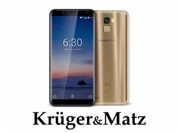 Mobilais telefons Mobilais telefons Kruger & Matz Live 6+ Gold Mobilie tālruņi