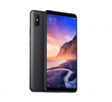 Išmanusis telefonas Xiaomi Mi Max 3 64GB Black BAL Mobilūs telefonai
