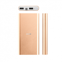 Išorinė baterija Acme PB15SG power bank (Lightning and Micro USB inputs) 10000 mAh, Gold
