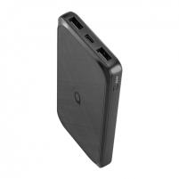 Išorinė baterija Acme Power bank PB102 10 000 mAh, Black, 2 USB ports, USB C, Li-Ion