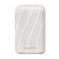 Išorinė baterija ADATA P10050C Power Bank, 10050mAh, white Išorinės baterijos (Power bank)