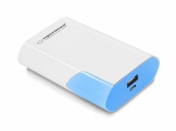 Išorinė baterija ESPERANZA EMP111WB POWER BANK 6000MAH BOSON Išorinės baterijos (Power bank)