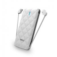 Išorinė baterija iWalk Power bank UBO3000 3000mAh, White