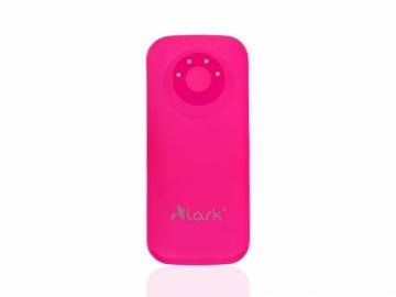 Išorinė baterija Lark Free Power HD 8400 Power Bank Pink