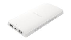 Išorinė baterija Silicon Power S82 Power Bank 8000mAH, USB, LED, White Išorinės baterijos (Power bank)