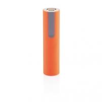 Išorinė baterija telefonui, oranžinė