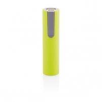 Išorinė baterija telefonui, žalia