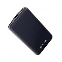 Išorinė baterija Tellur Power Bank Slim, 10000mAh, USB + Type-C + MicroUSB, blue Išorinės baterijos (Power bank)