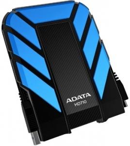 Išorinis diskas Adata DashDrive HD710 1TB USB3 Mėlynas, Atsparus vandeniui