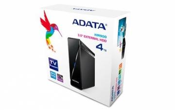 Išorinis diskas Adata Media HM900 3.5inch 4TB USB3.0, TV Įrašymas