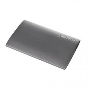 Išorinis diskas Intenso External Portable SSD 1,8 128GB, Premium Edition, USB 3.0, Anthracite