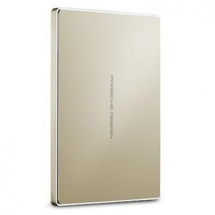 Išorinis diskas LaCie Porsche Design Mobile Drive - Gold, 2,5, 2TB, USB 3.1 TYPE C