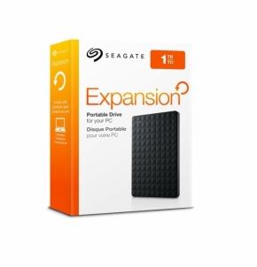 Išorinis diskas Seagate Expansion 2.5 1TB USB3, Juodas