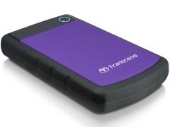Išorinis diskas Transcend 25H3P 2.5 2TB USB3, Triguba smūgių slopinimo sistema