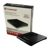 Išorinis DRW Transcend, USB, Juodas, Retail, Plonas - tik 13.9mm