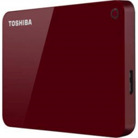 "Išorinis kietas diskas Toshiba Canvio Advance 2000 GB, 2.5 "", USB 3.0, Red"