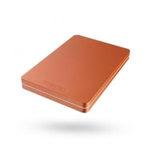 """Išorinis kietas diskas Toshiba Canvio Alu 1000 GB, 2.5 """", USB 3.0, Red"""