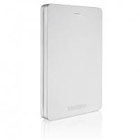 """Išorinis kietas diskas Toshiba Canvio Alu 1000 GB, 2.5 """", USB 3.0, Silver"""