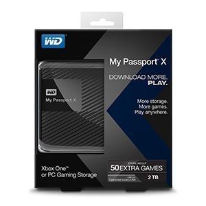 Išorinis kietasis diskas External HDD WD My Passport X 2.5 2TB USB3 Black