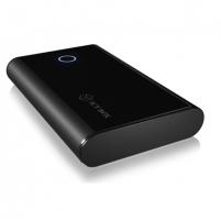 "Išorinis Hard drive Icy Box IB-373U3, External Case for 3,5"" SATA (I-III) 6Gbit/s to USB 3.0, UASP, black"