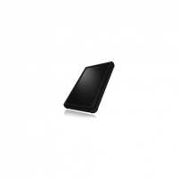 "Išorinis kietasis diskas ICY BOX USB 3.0 case for 2,5"" SATA HDD, screwless, with silicon protector, black"