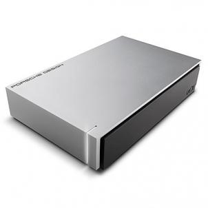 Išorinis kietasis diskas LaCie Porsche Design 4TB, USB 3.0, for MAC, Aluminium, External