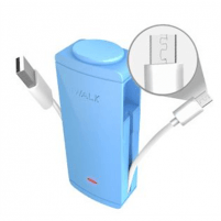 iWalk 2600mAh battery pack, micro-USB version (Blue) Camera chargers/batteries