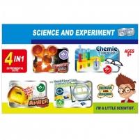 Jaunojo mokslininko rinkinys 4in1 Lavinimo žaislai