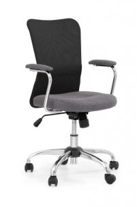 Jaunuolio kėdė ANDY pilka/juoda