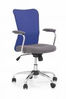 Jaunuolio kėdė ANDY pilka/mėlyna Jaunuolio kėdės