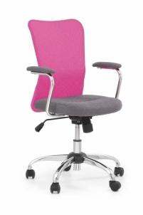Jaunuolio kėdė ANDY pilka/rožinė Jaunuolio kėdės
