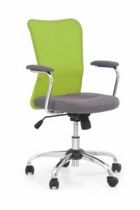 Jaunuolio kėdė ANDY pilka/žalia