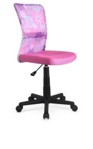 Jaunuolio kėdė DINGO rožinė su dekoracijom Jaunuolio kėdės