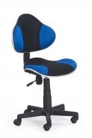 Jaunuolio kėdė FLASH juoda/mėlyna Jaunuolio kėdės
