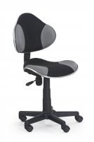 Jaunuolio kėdė FLASH juoda/pilka Jaunuolio kėdės