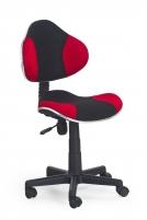 Jaunuolio kėdė FLASH juoda/raudona