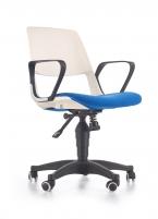 Jaunuolio kėdė JUMBO balta/mėlyna