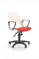 Jaunuolio kėdė JUMBO balta/raudona Jaunuolio kėdės